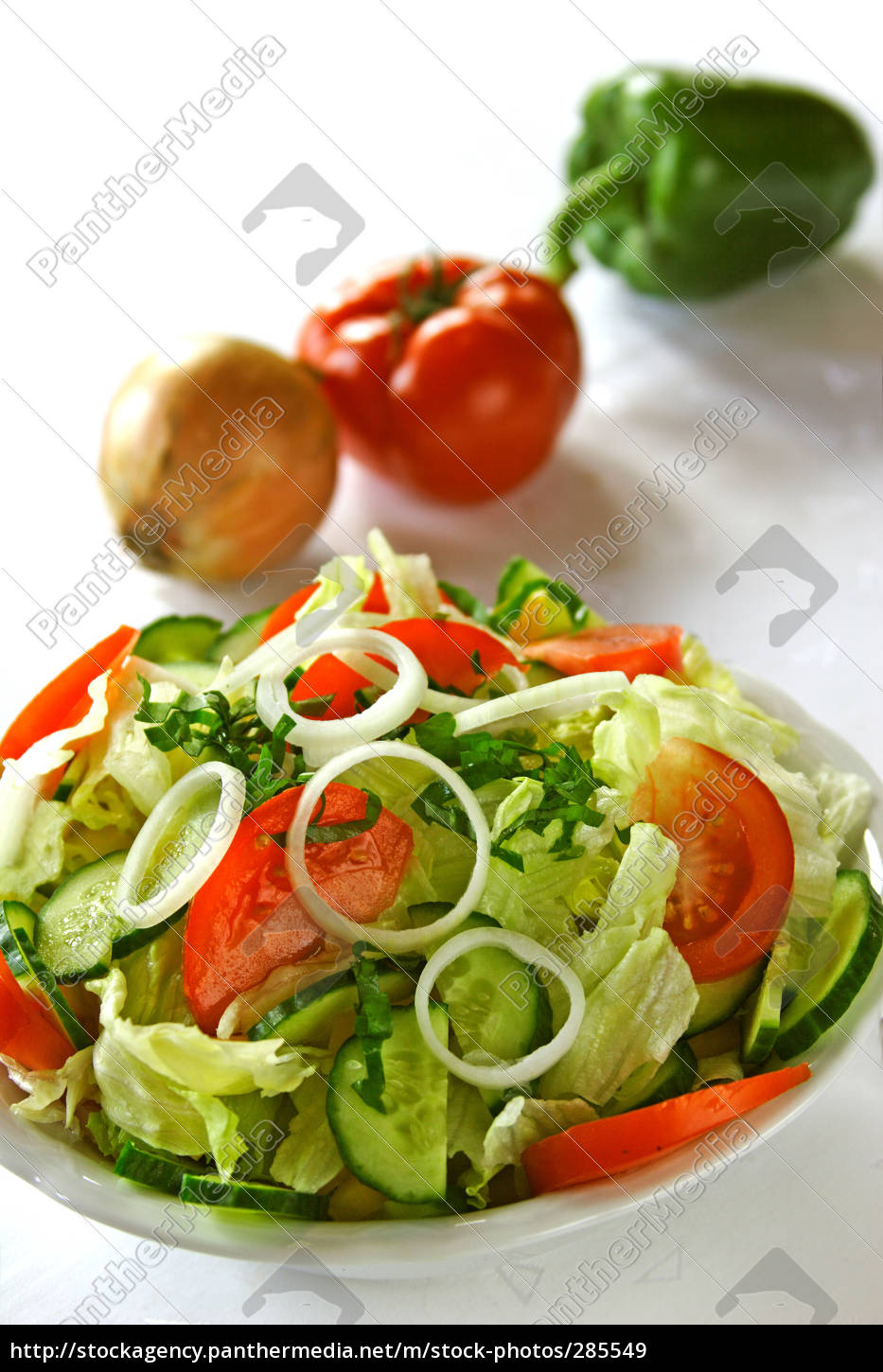 mixed, salad - 285549