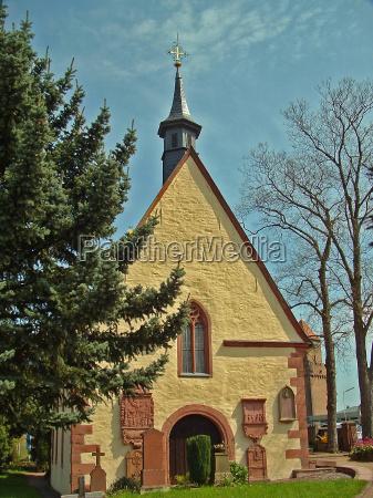 church chapel bavaria tele friehof grundmotiv