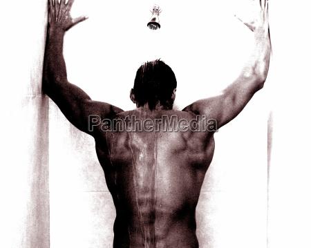 take a shower for men