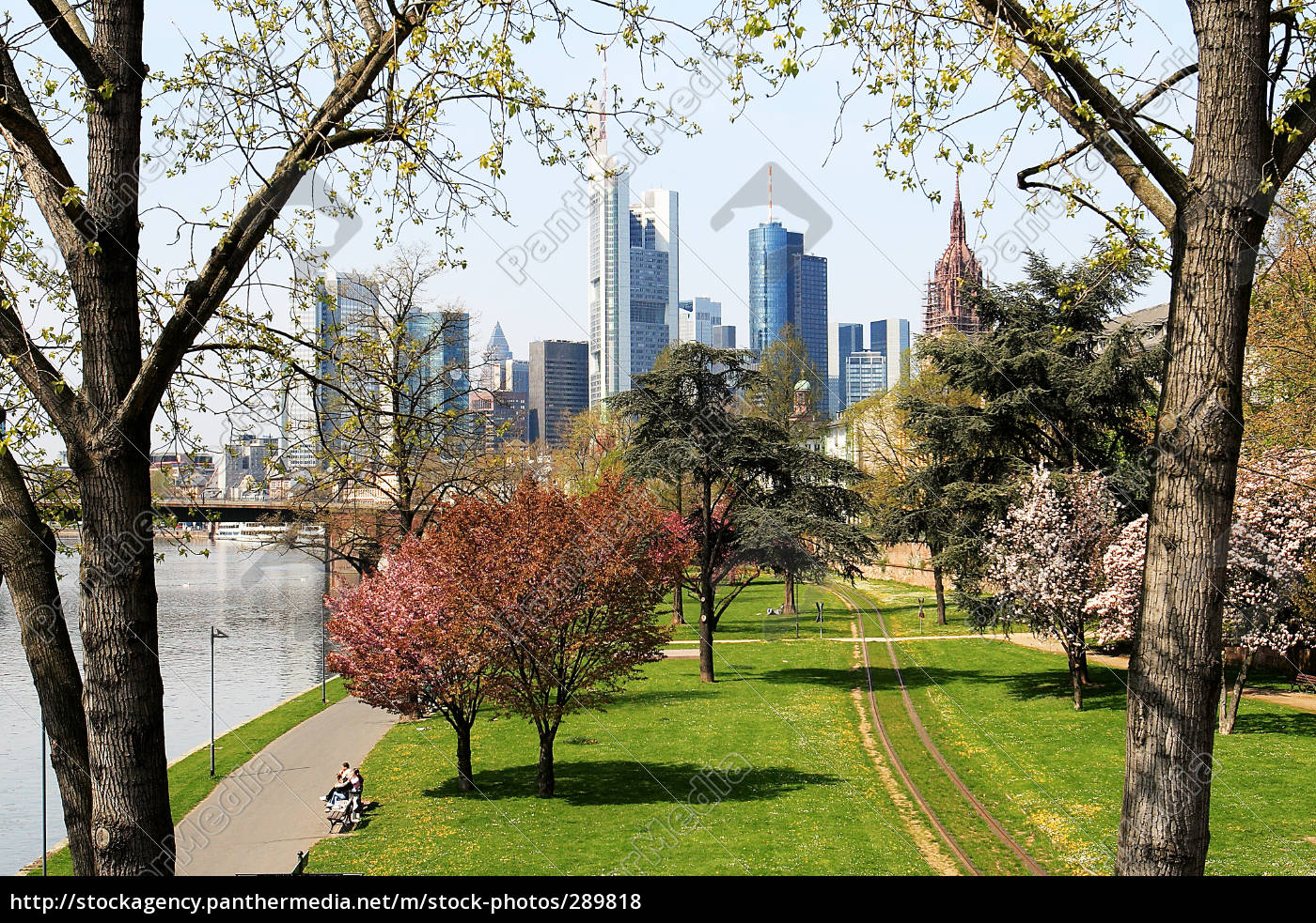 frankfurt, in, spring, horizontal - 289818