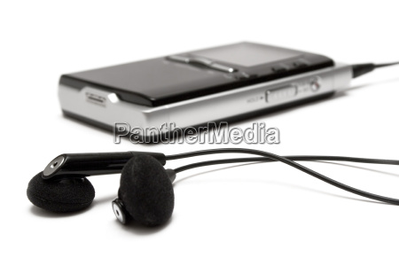 mp3, player, with, headphones - 297932