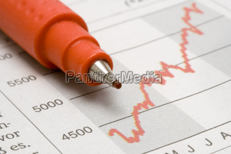 share, price, and, red, pencil - 297933