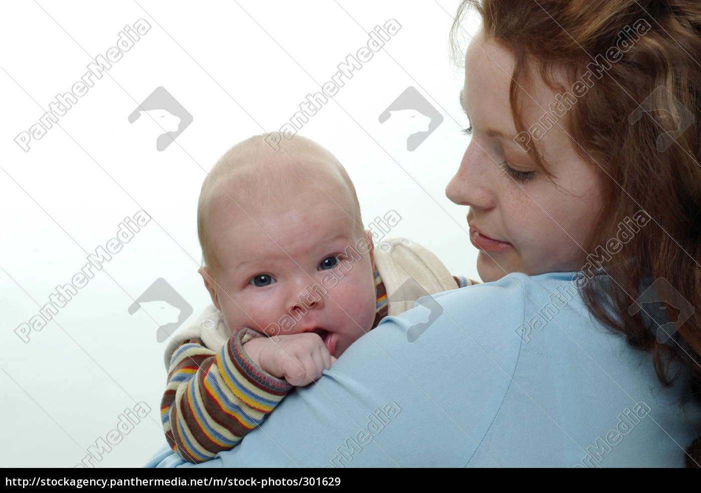 curious, baby, with, mother - 301629