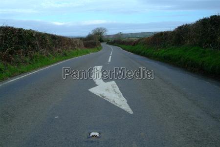 road arrow 2