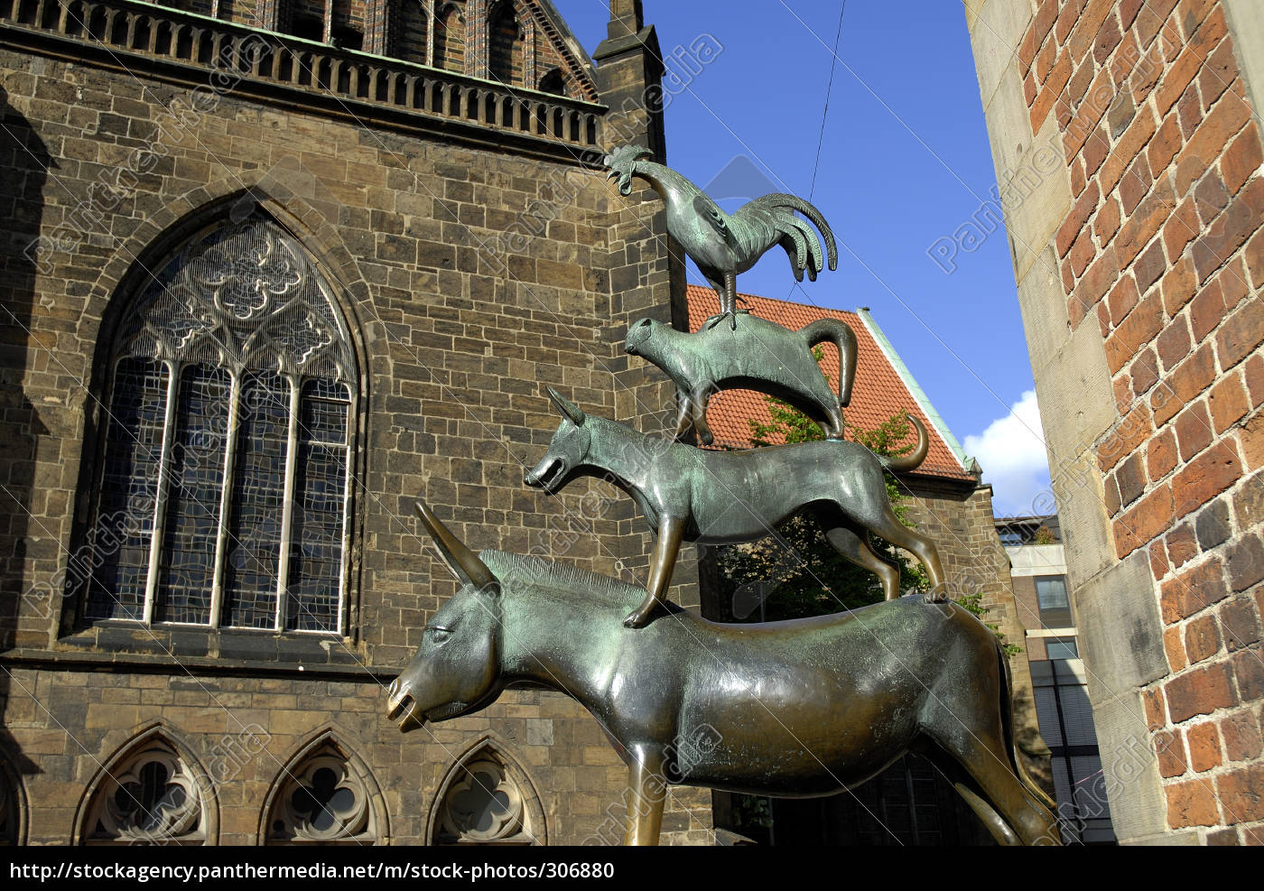 the, bremen, city, musicians - 306880