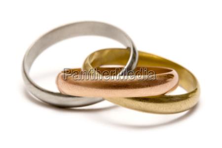 interlocking, rings - 307271
