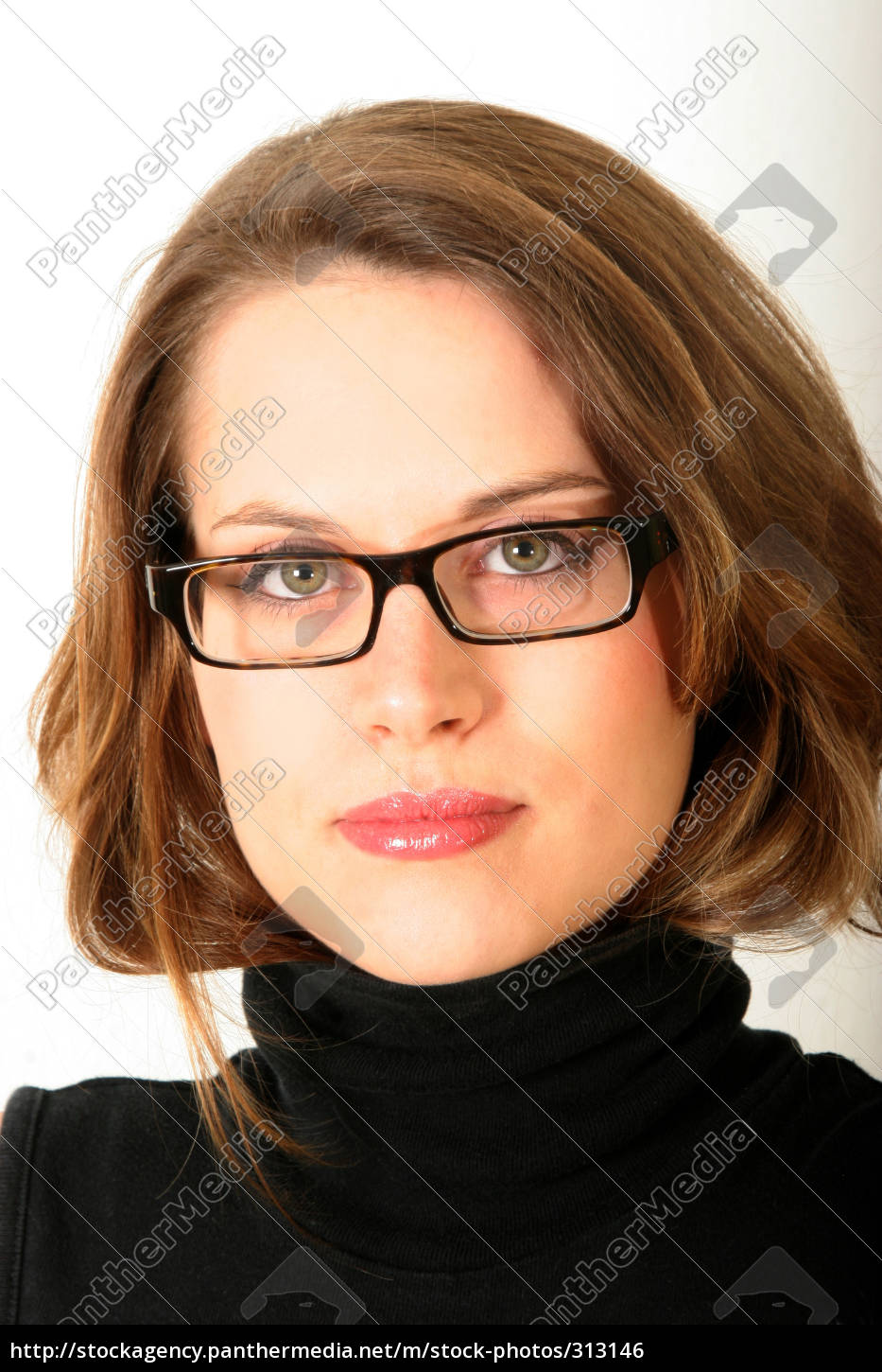 woman, with, glasses - 313146
