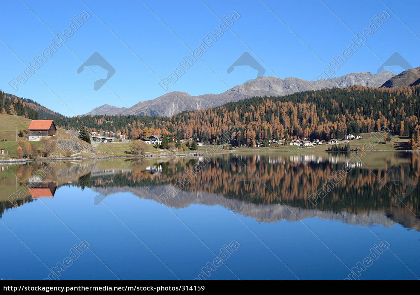 on, lake, davos - 314159