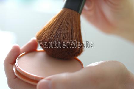 powder, brush - 314057