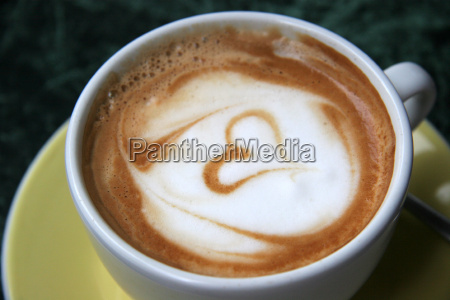 cappucino, with, heart - 315114