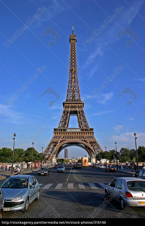 eiffel, tower, v - 316146