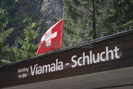 viamala, gorge, in, switzerland - 321612