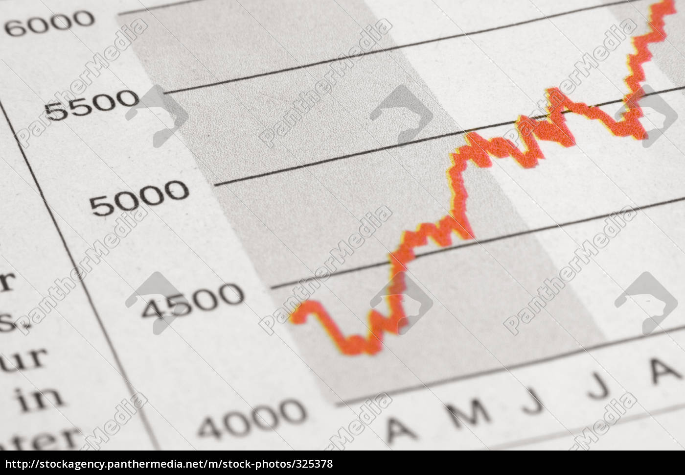 red, stock, market - 325378