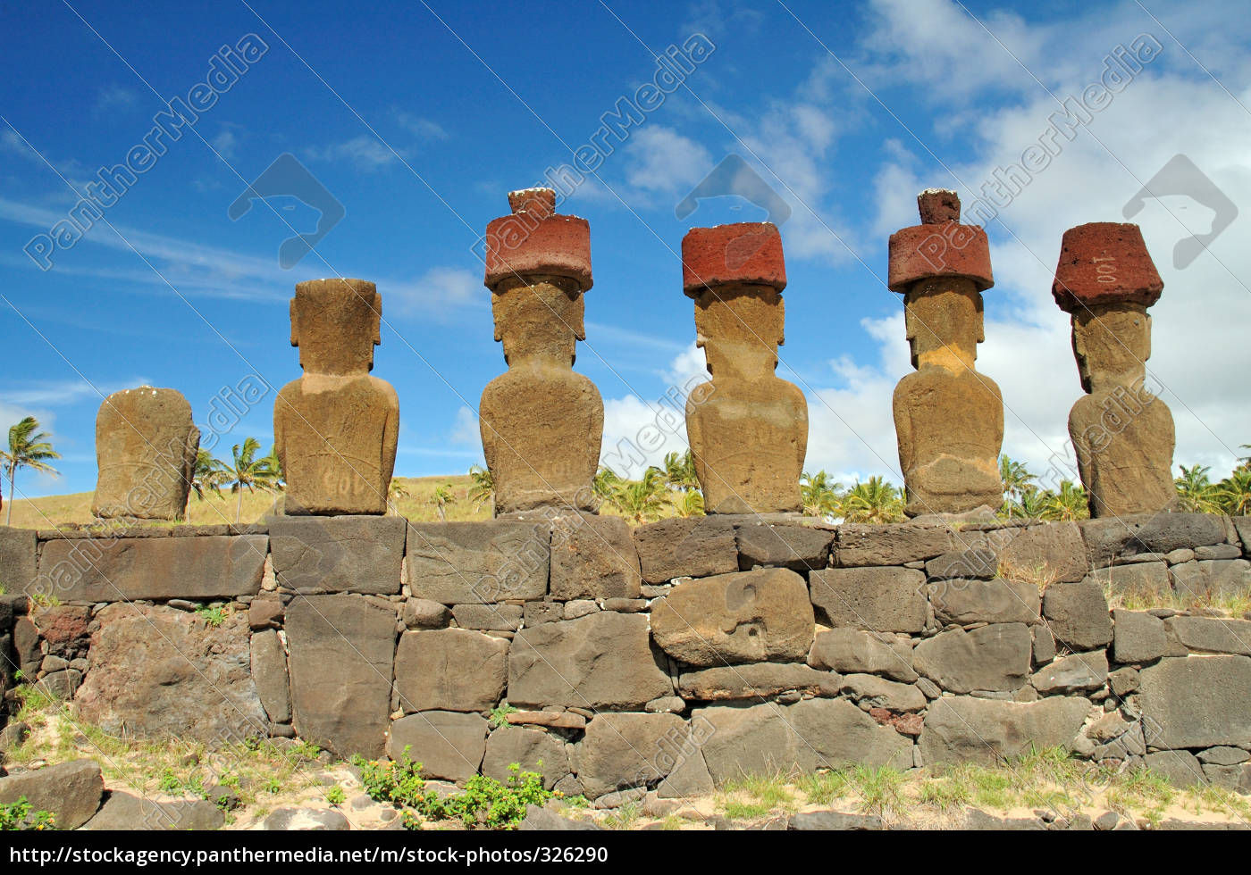 moai, statues, on, the, easter, island - 326290