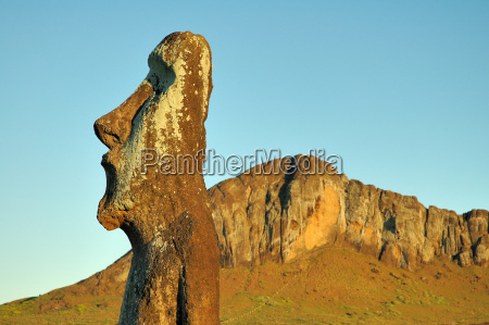 statue, carved, from, volcanic, stone - 326330