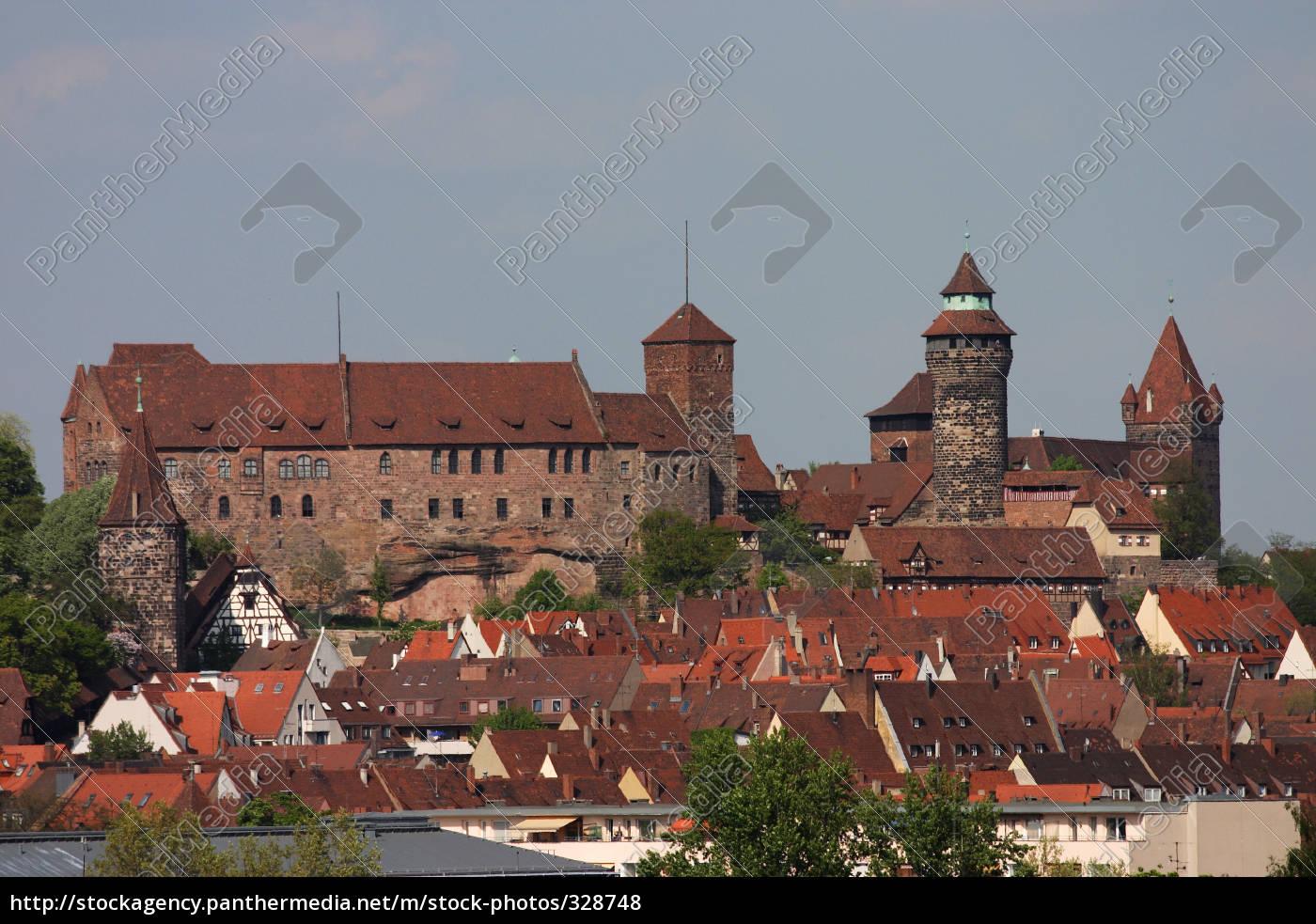the, kaiserburg, nuremberg - 328748