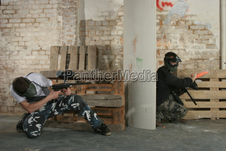 paintball, action - 329376
