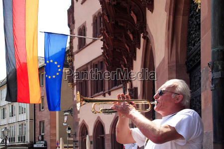 the trumpeter from frankfurt