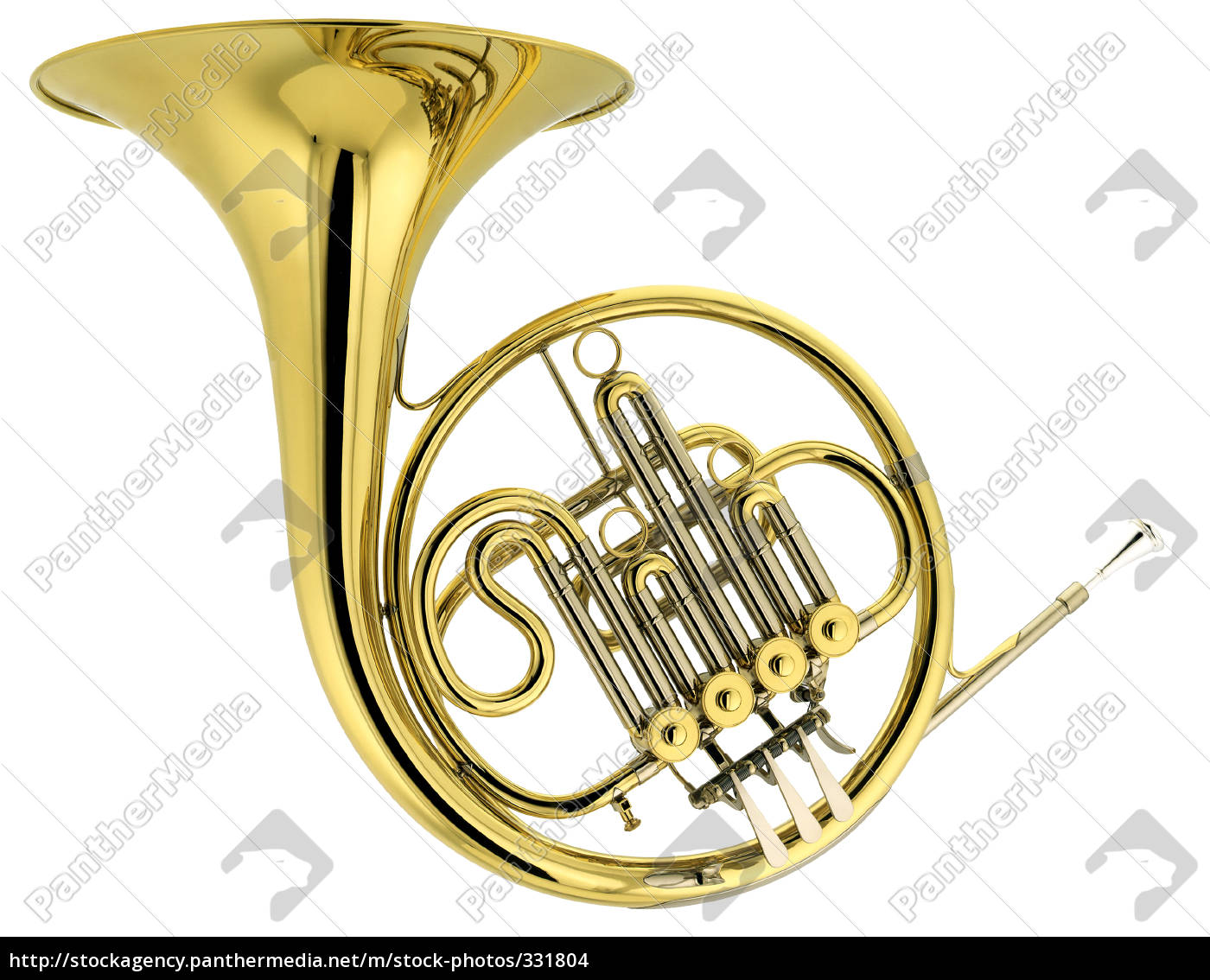 french, horn - 331804