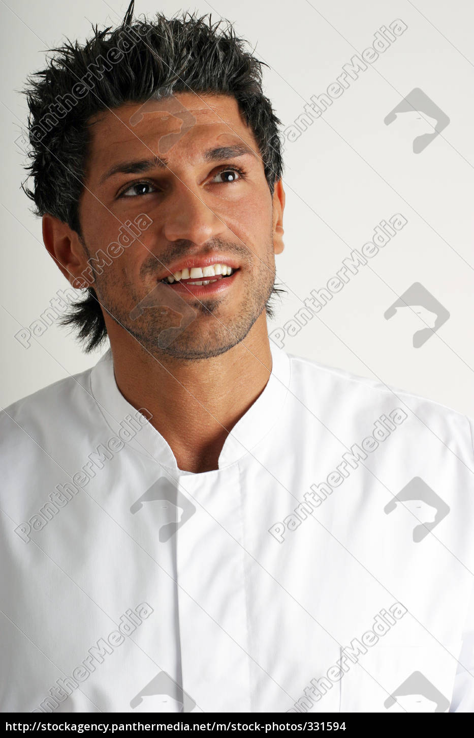 man, in, the, white, smock, up - 331594