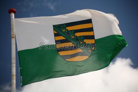 saxony flag