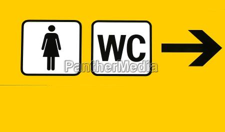 wc yellow woman