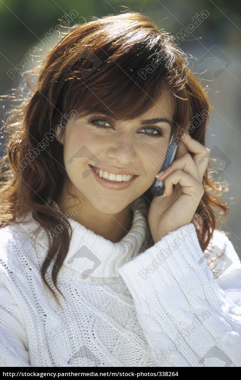 telephone, girl, 2 - 338264
