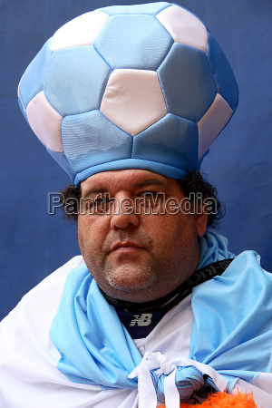 argentina, fan, with, hat, no.2 - 340717