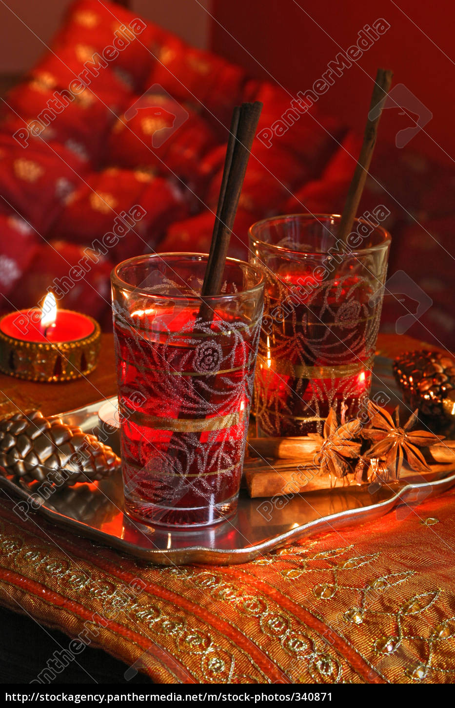 mulled, wine - 340871