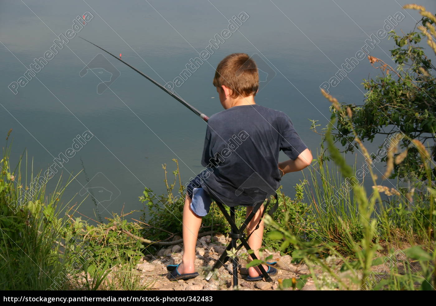 child, fishing - 342483