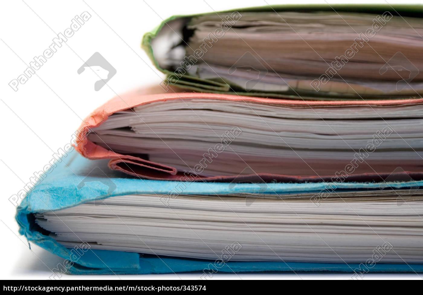 colorful, folders - 343574
