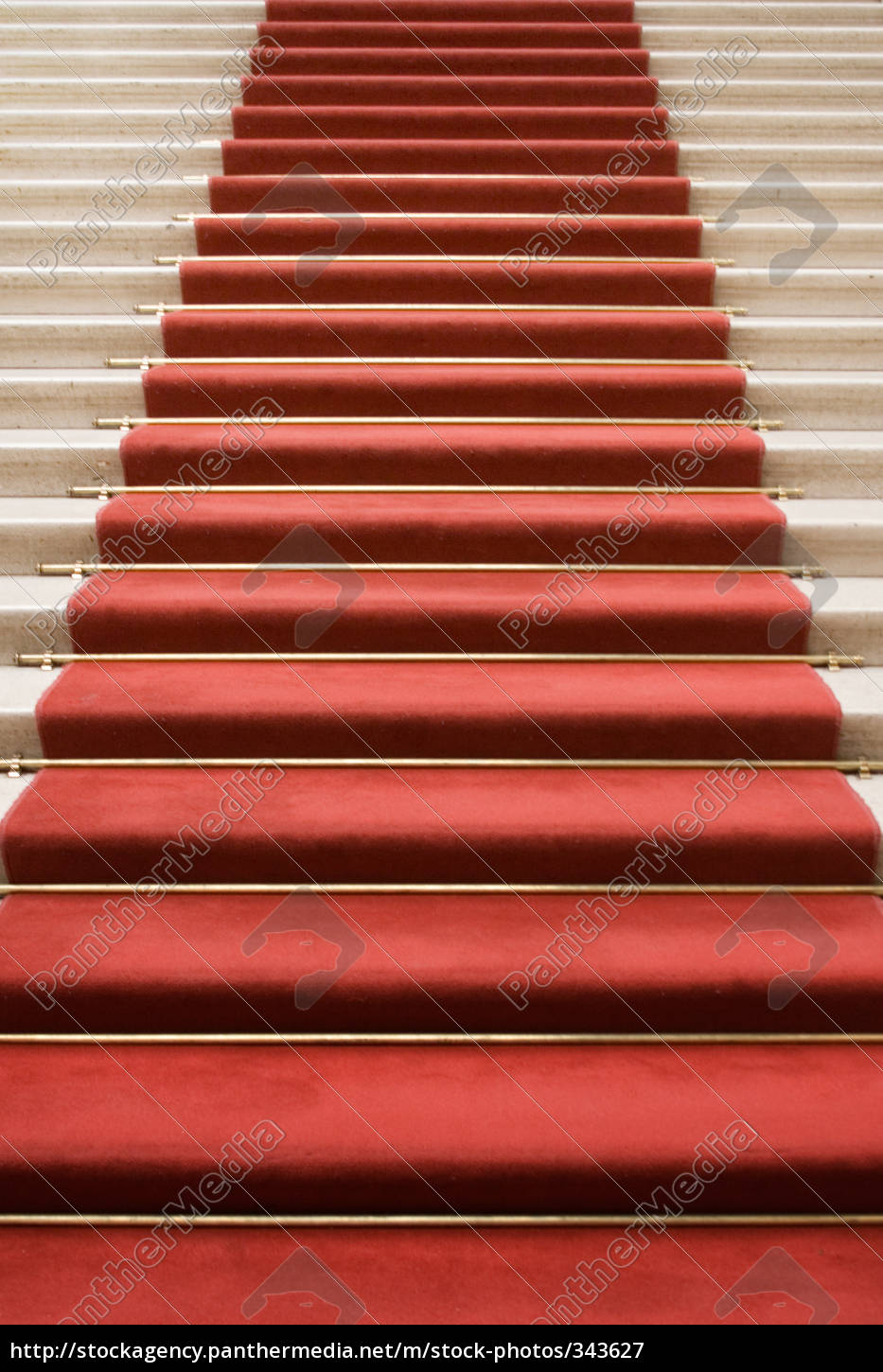 stairs, with, red, carpet - 343627