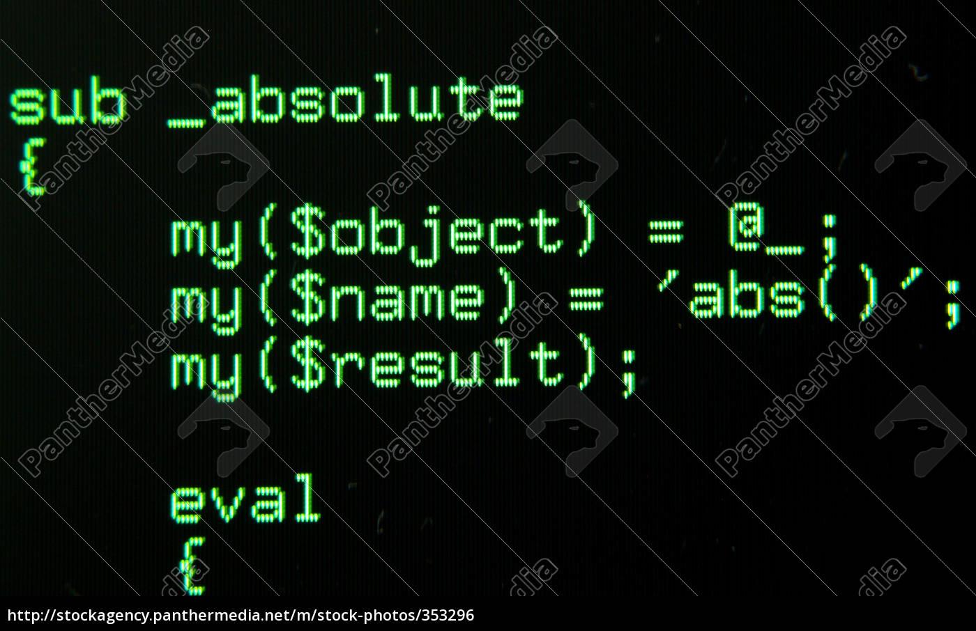 program, code, iii - 353296