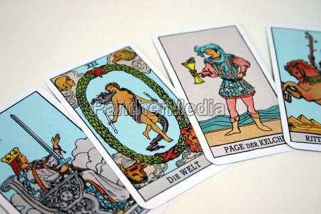 tarot, cards, (1) - 359858