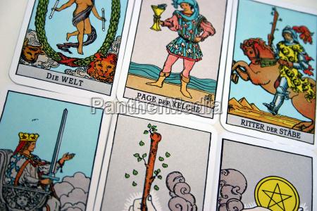 tarot, cards, (5) - 359934