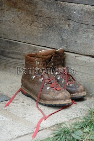 old, mountain, boots - 369485