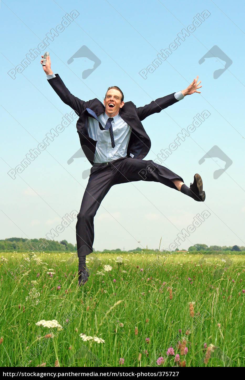 jubilant, businessman - 375727