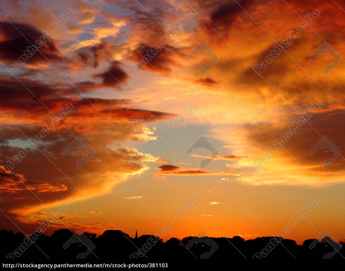 colorful, evening, sky - 381103