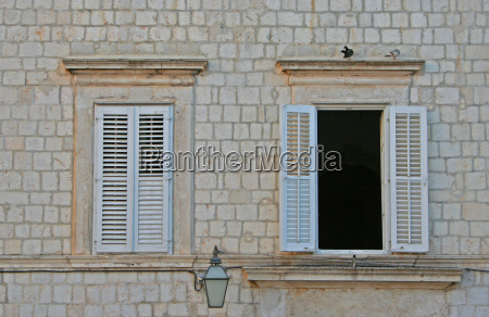 house building window porthole dormer window