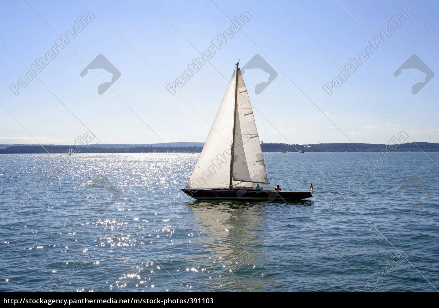 sailboat, on, lake, constance - 391103