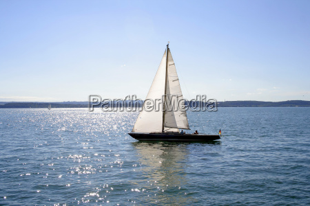 sailboat, on, lake, constance - 391103