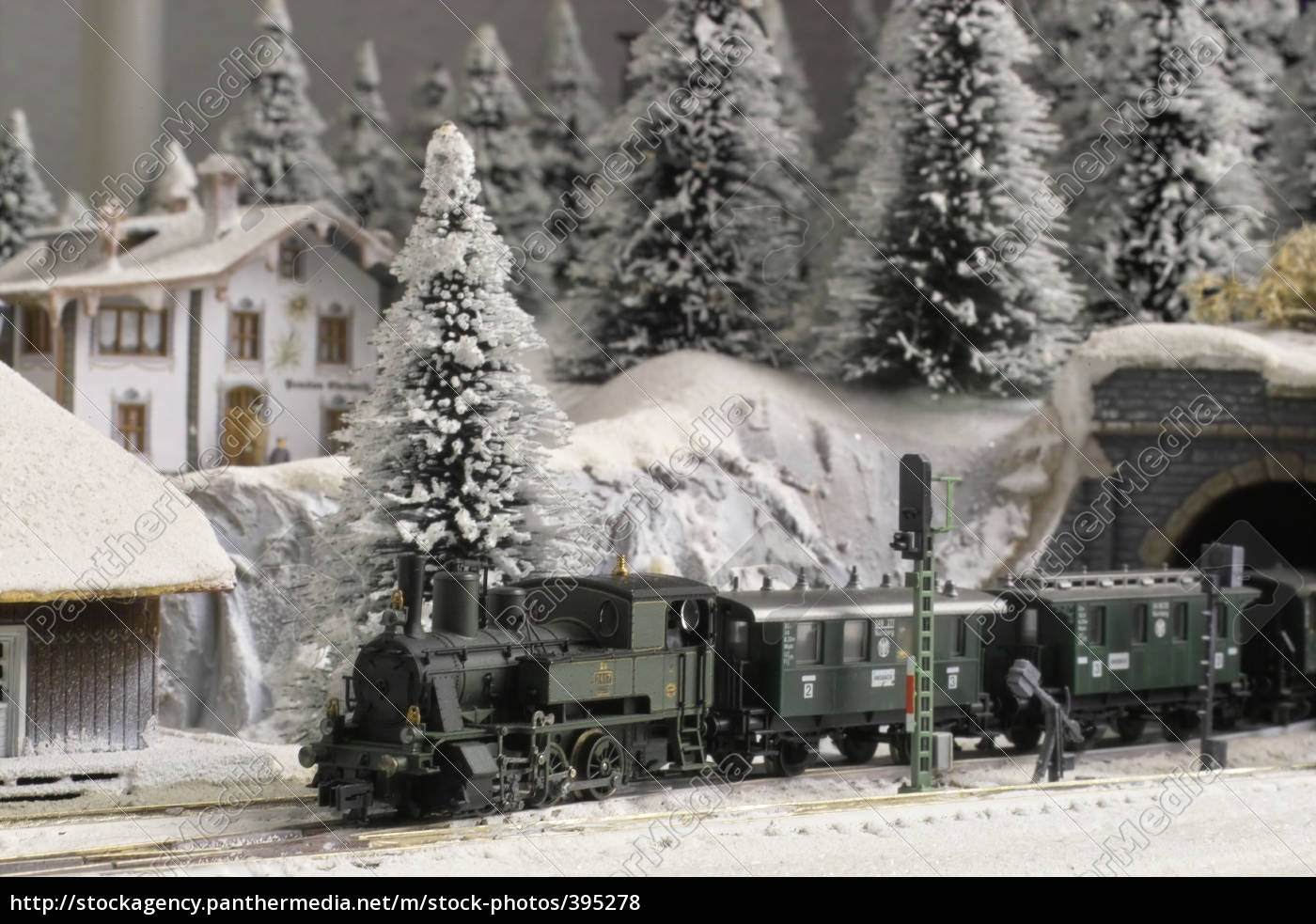 winter, landscape, model, in, n, scale - 395278
