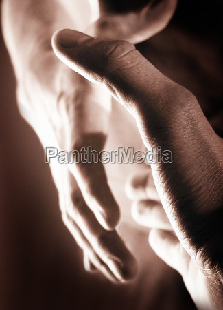 hand, punch, -, sepia - 402202