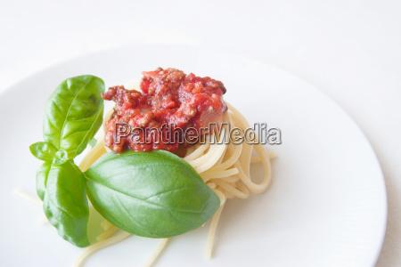 spaghetti, bolognese - 403580
