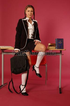 sweet schoolgirl