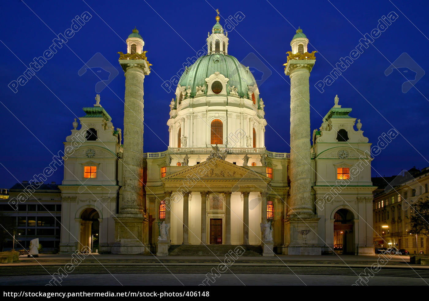 charles, church, vienna - 406148