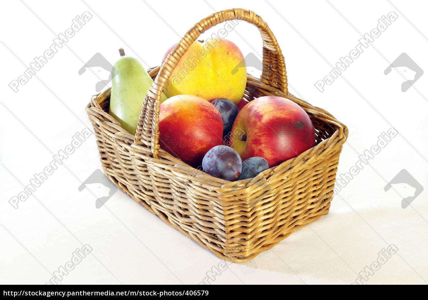 fruit, basket - 406579