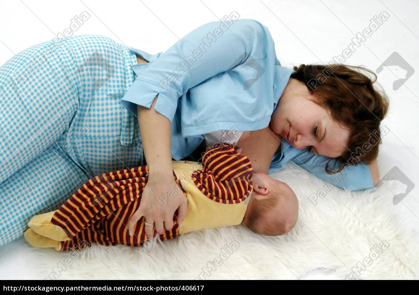 sleeping, and, breastfeeding - 406617