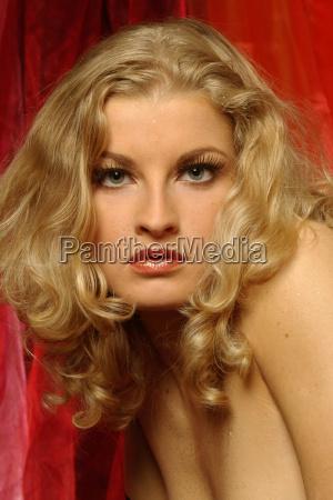 erotic angel portrait