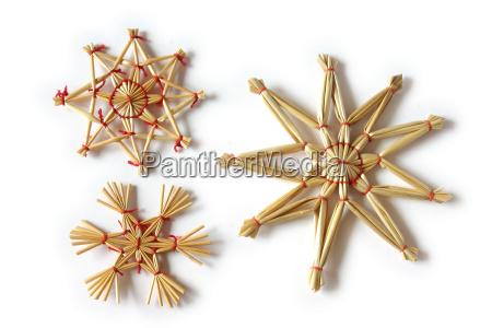 strohsterne, for, christmas - 408859